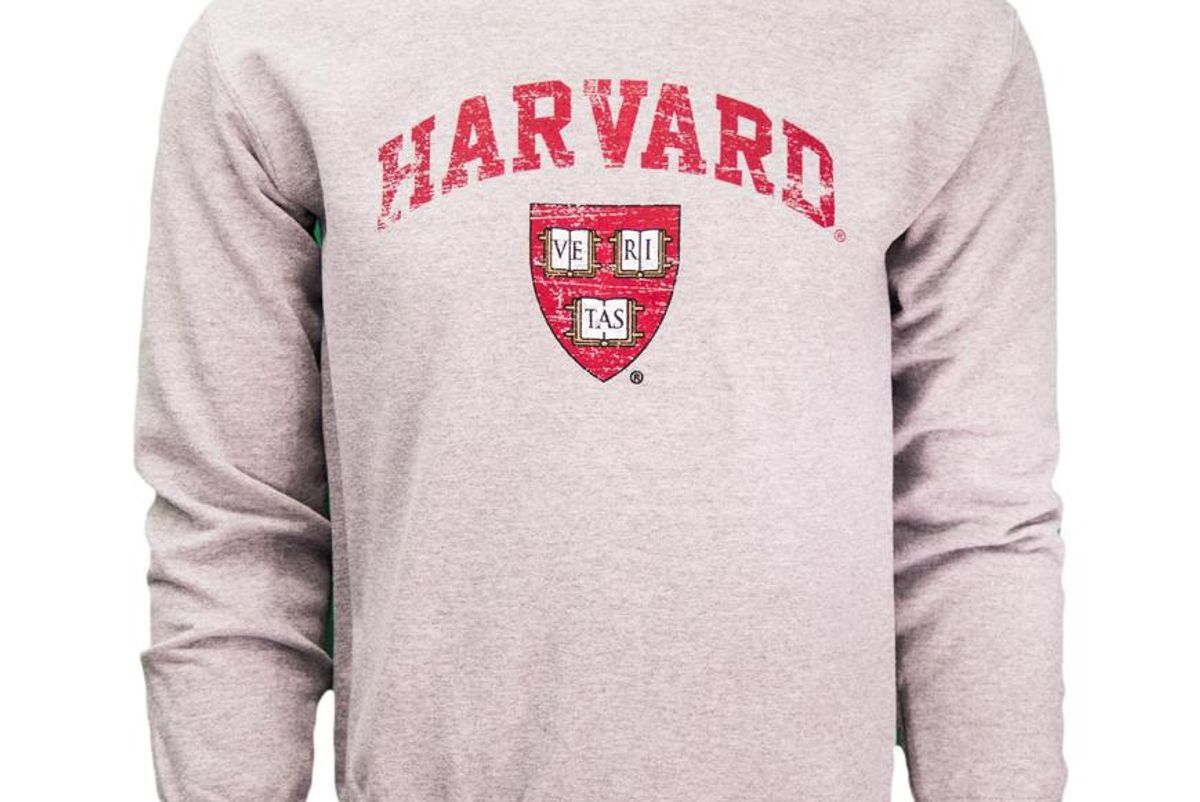the harvard shop vintage crew sweatshirt