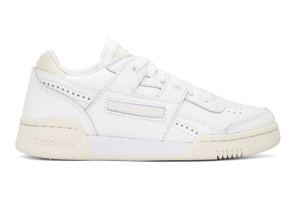 reebok classics workout plus lo sneakers