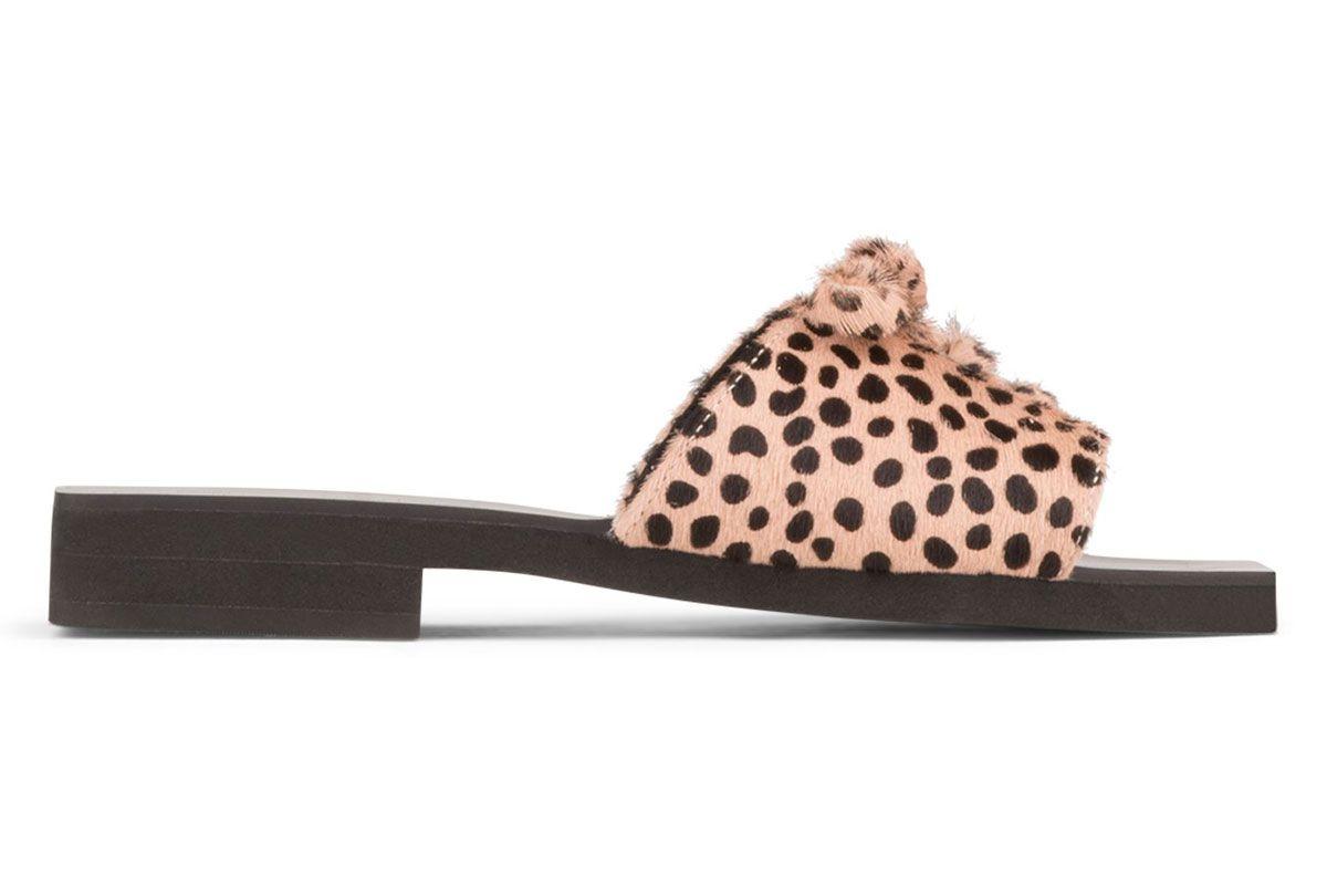 jeffrey campbell marley f square toe slide sandal