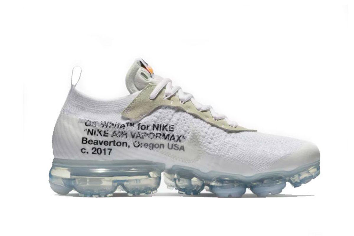 nike air vapormax x off-white the ten
