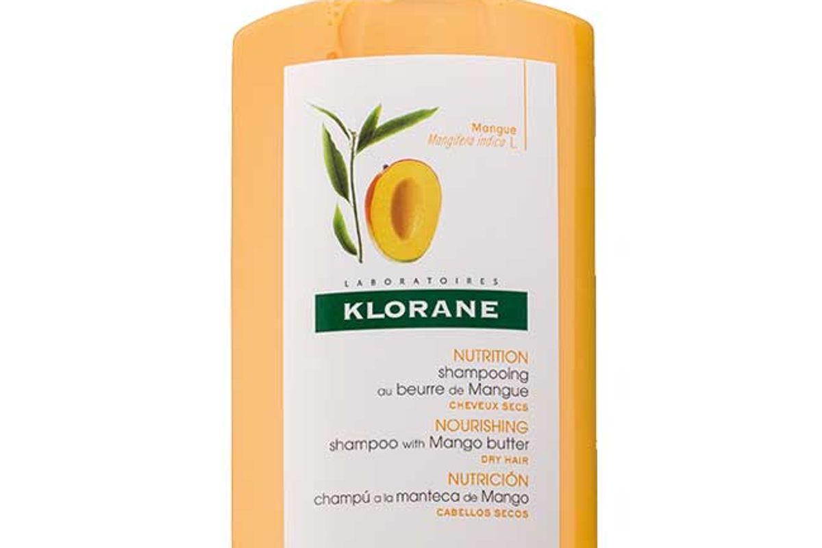 klorane shampoo with mango butter