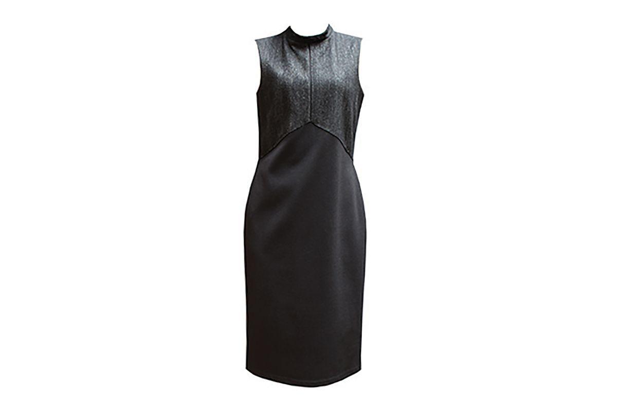Sleeveless Herringbone dress