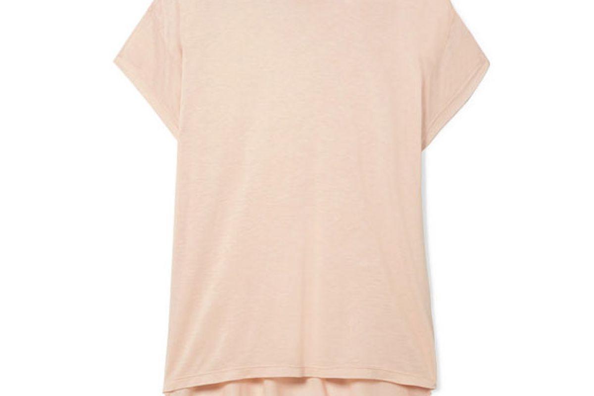 cale sandrine modal blend jersey t shirt