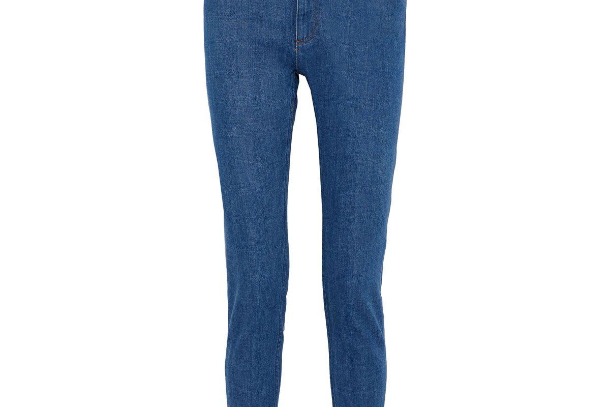 apc mid rise skinny jeans