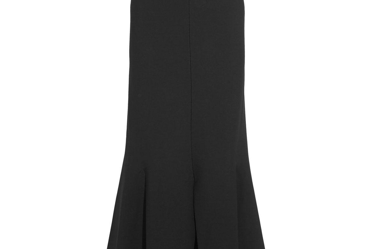 stella mccartney fluted stretch knit maxi skirt