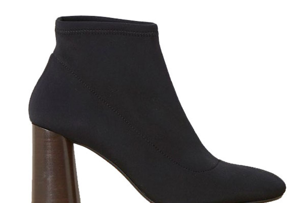 french connection mary stretch neoprene ankle boots
