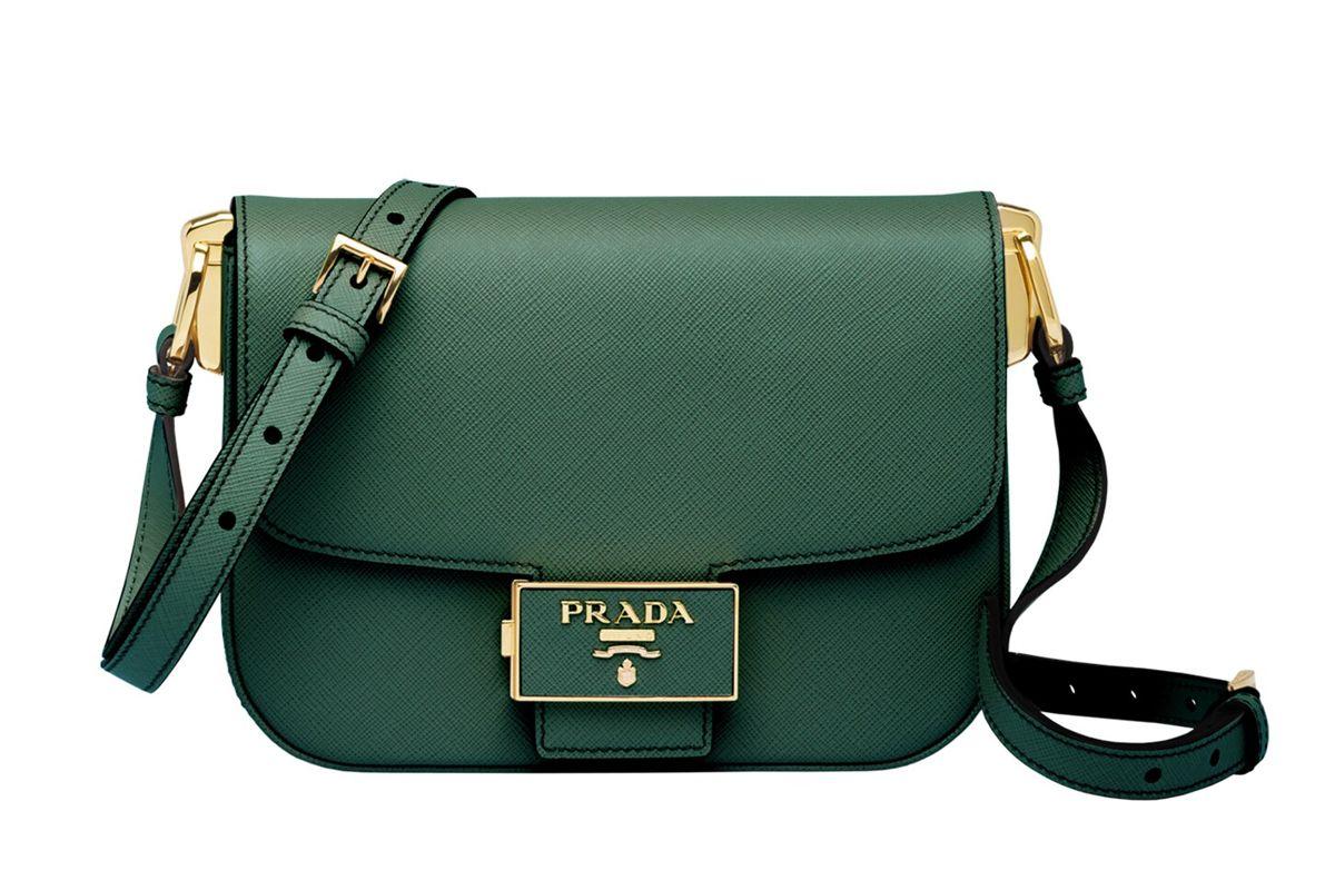 prada embleme saffiano leather bag