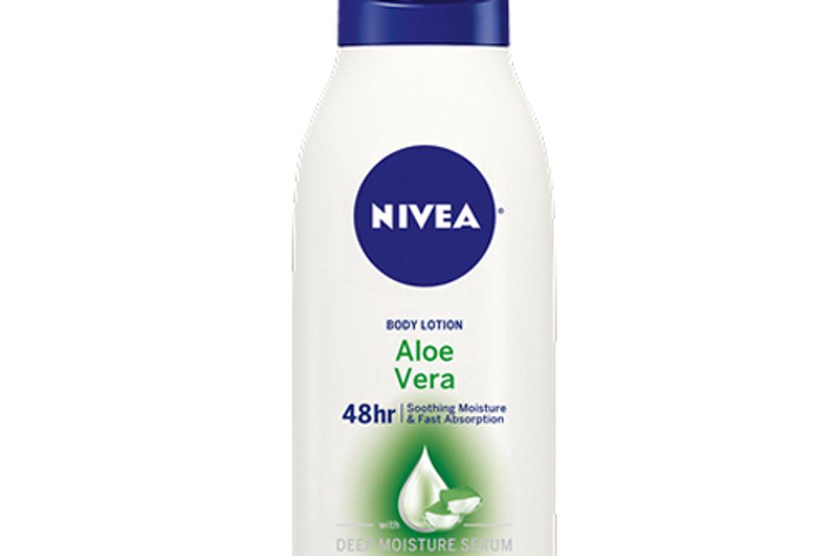 nivea aloe vera body lotion