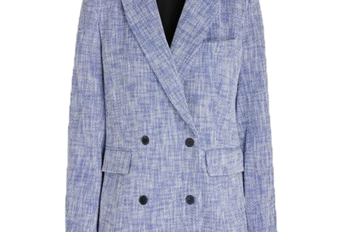 rachel comey jackets new rupture tweed double breasted blazer