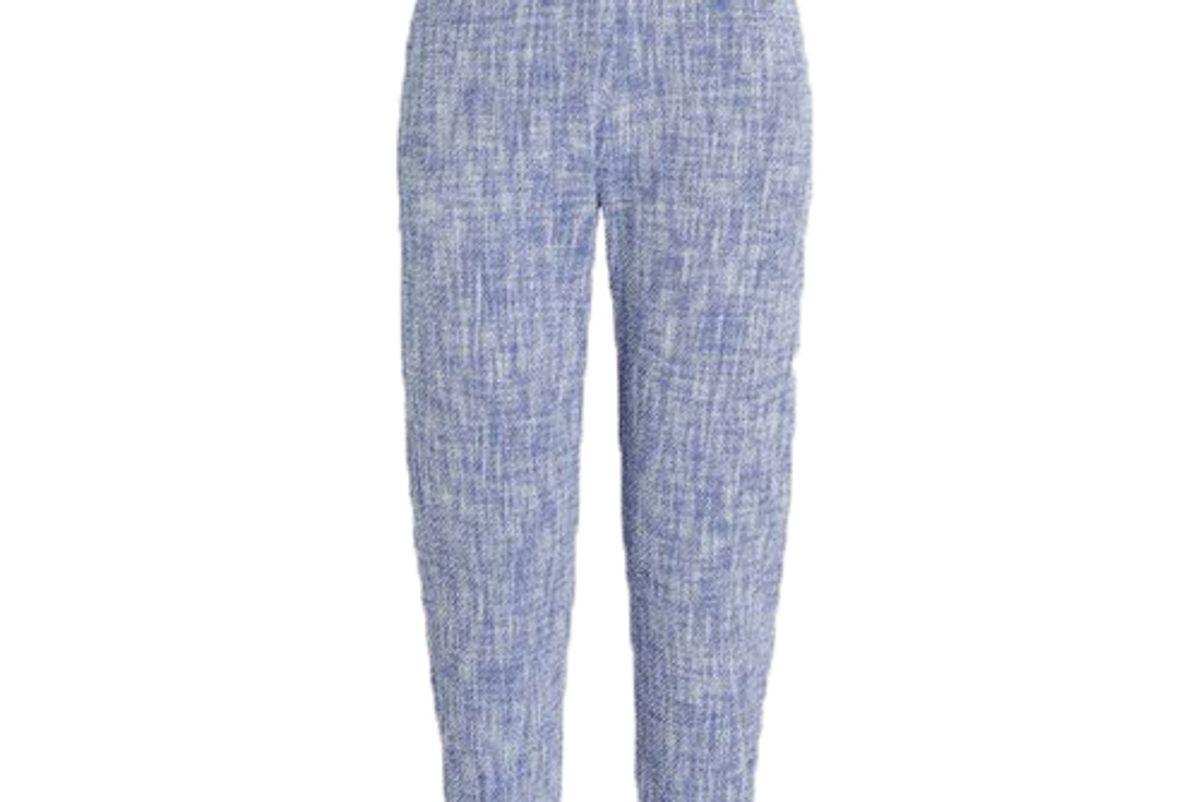 rachel comey westside flat tweed trousers
