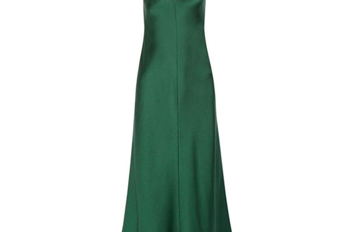 Guinevere silk-satin maxi dress