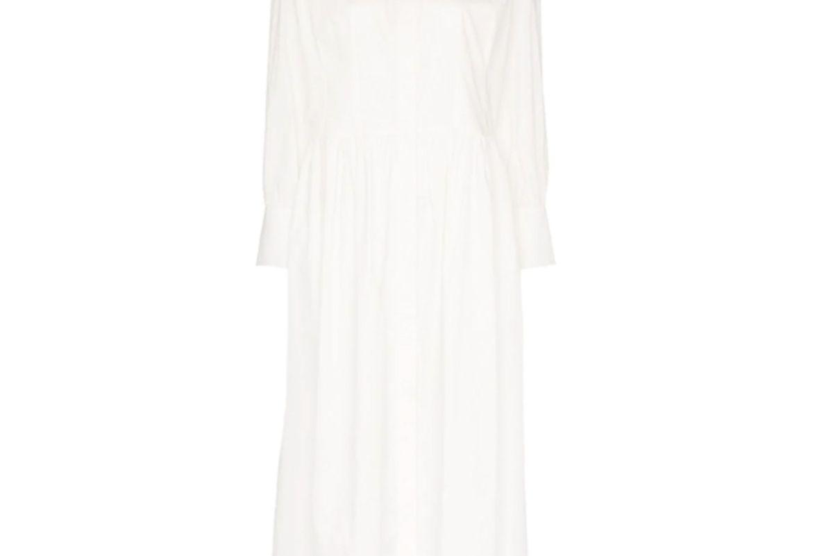 three graces peppa midi shirt dress