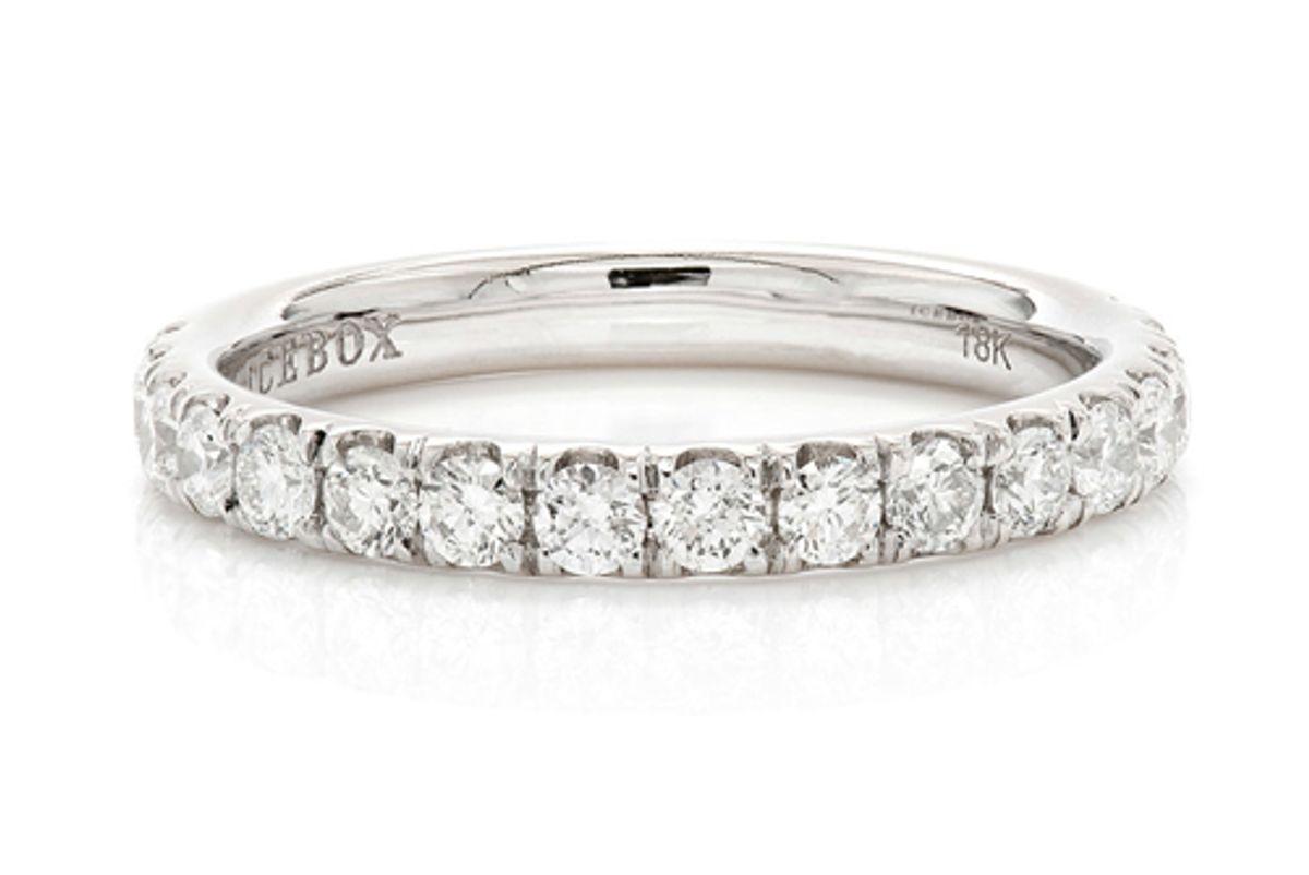 icebox single row diamond band