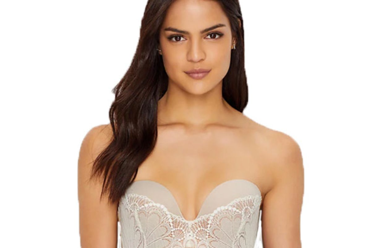bare necessities wonderbra refined glamour push up strapless bra