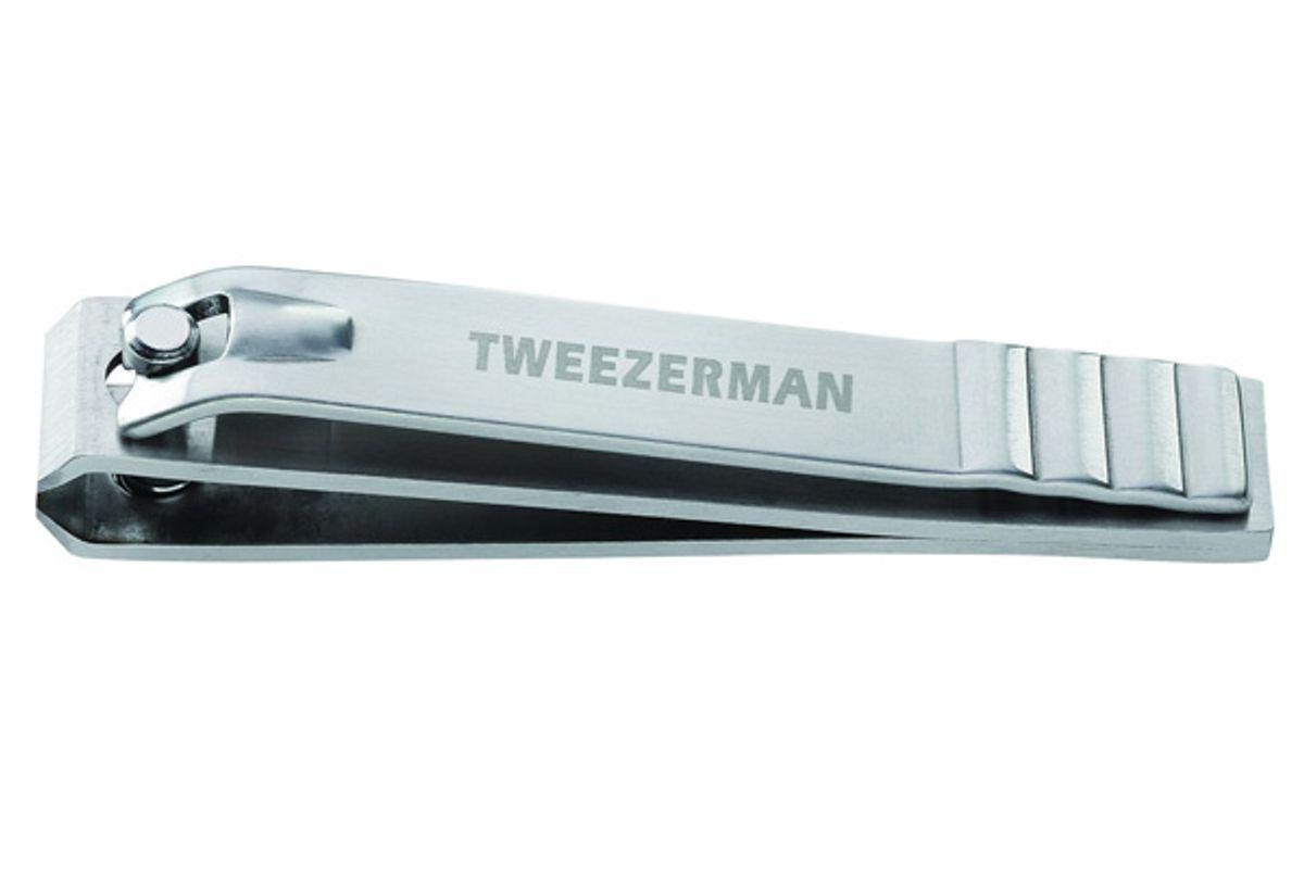 tweezerman professional stainless steel toenail clipper