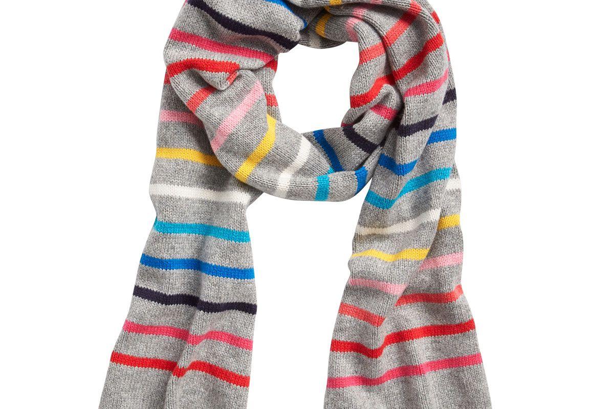 gap crazy stripe scarf
