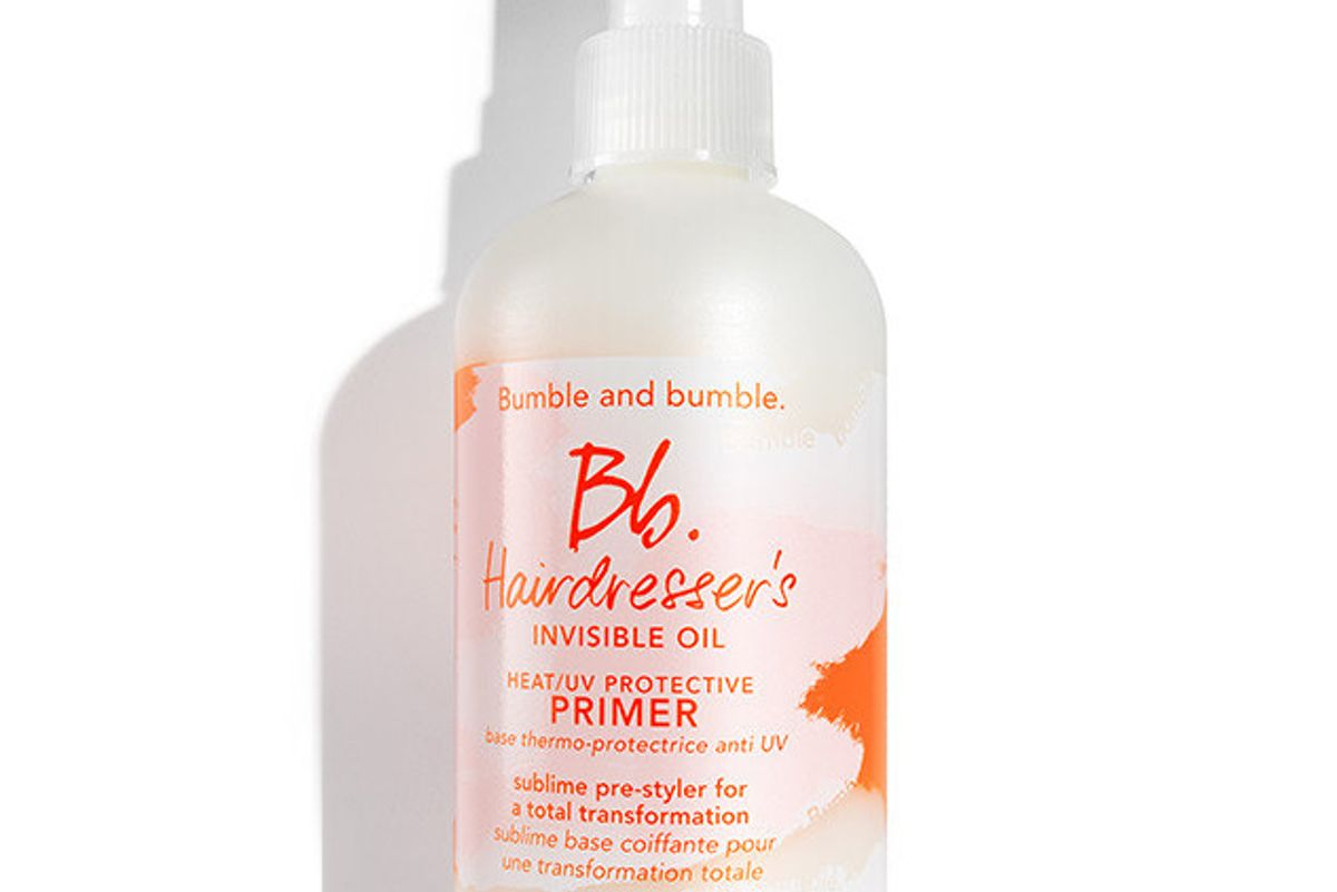 Hairdresser's Invisible Oil Heat/UV Protective Primer
