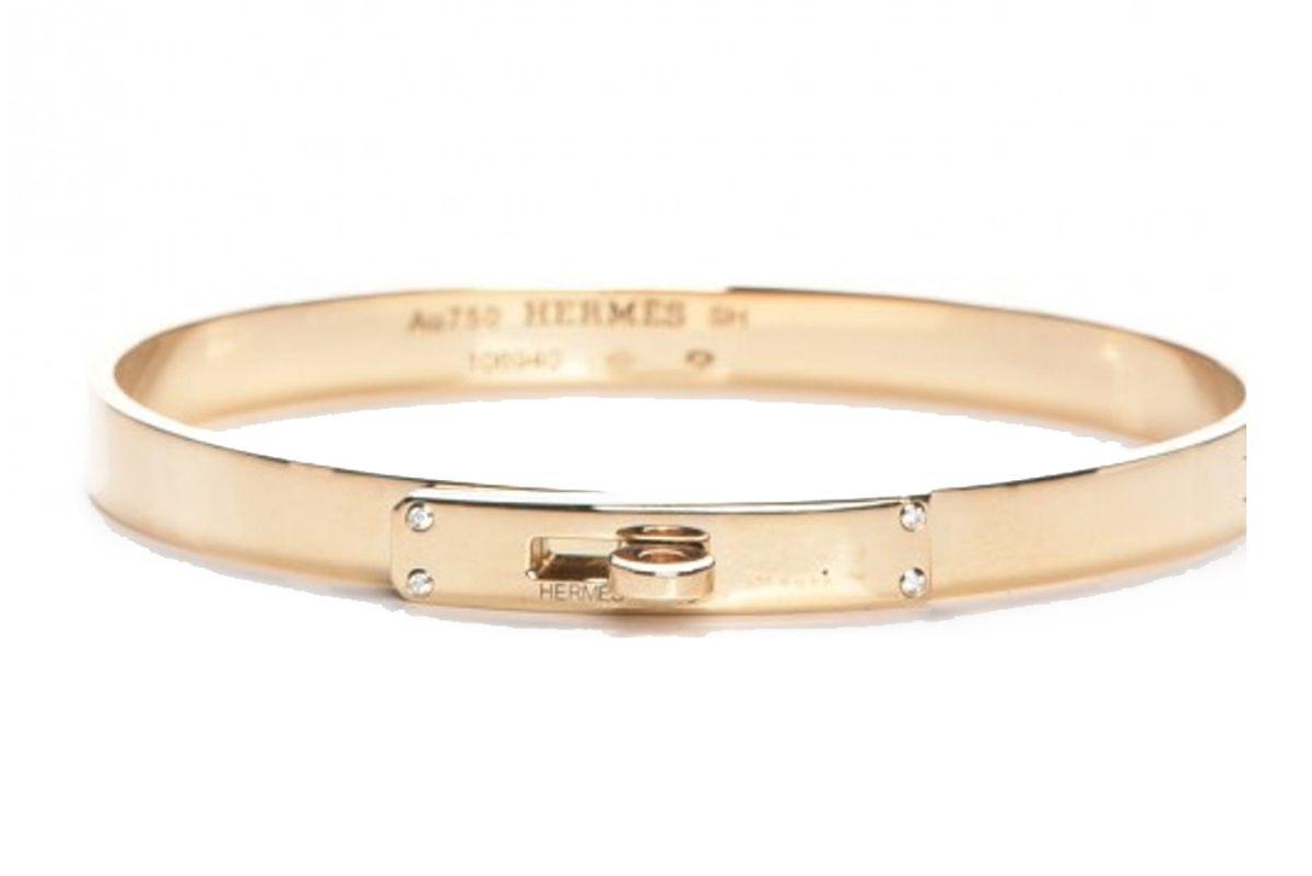 hermes kelly bangle bracelet