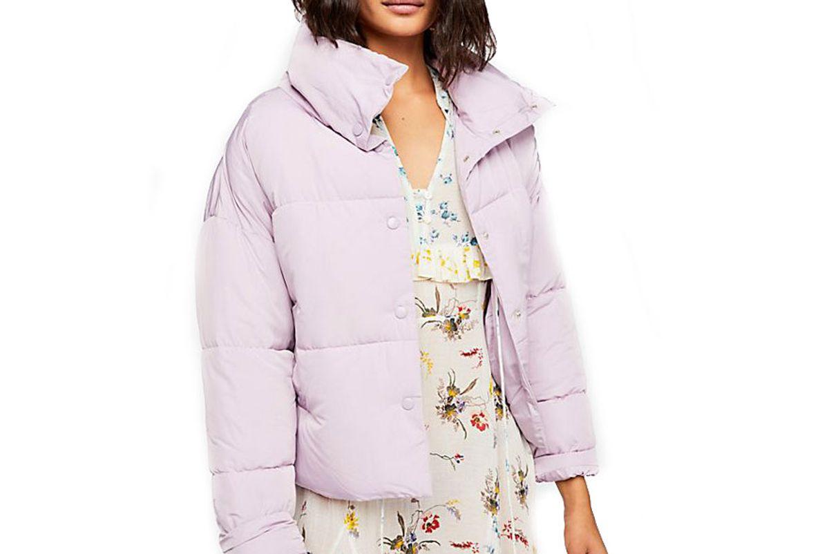 free people weekender puffer jacket