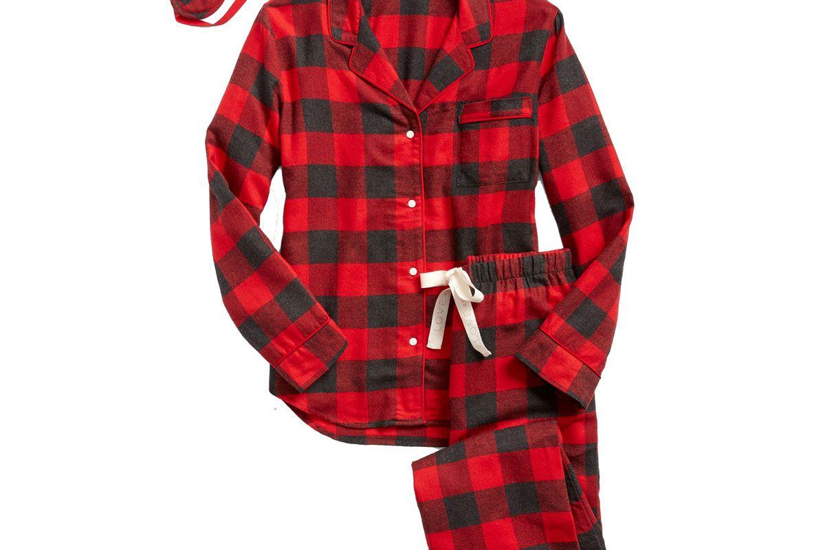 gap flannel sleep set