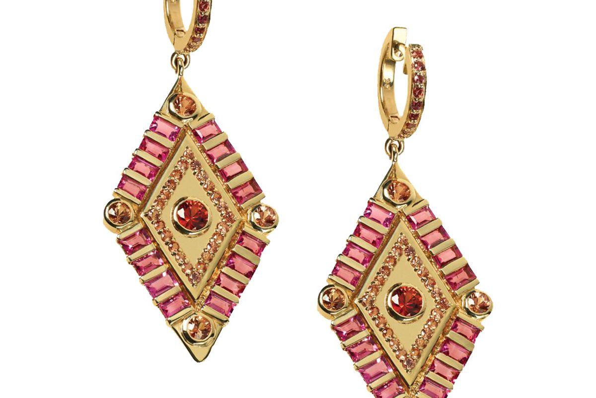 marlo laz shaman's eye earrings
