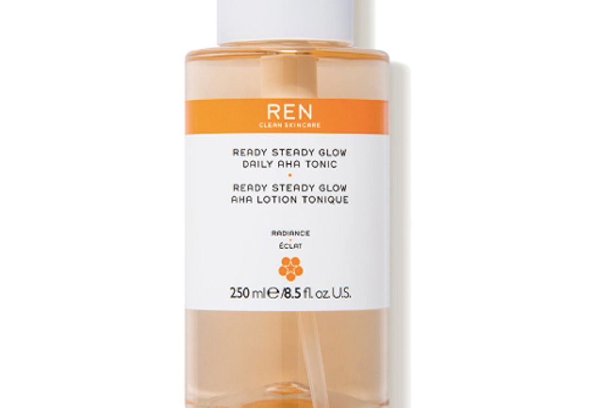 ren clean skin care ready steady glow daily tonic