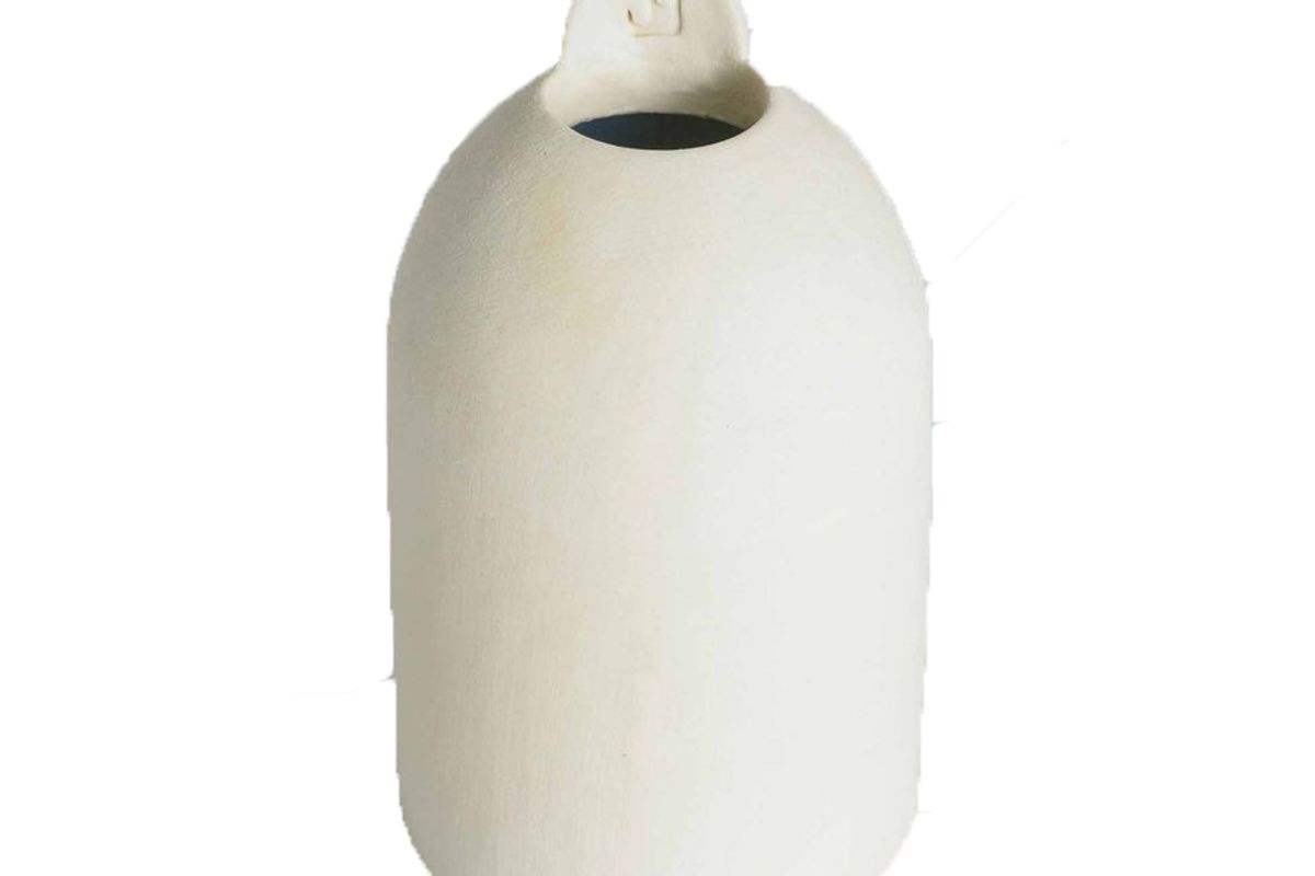anthom tall cylinder dome off white
