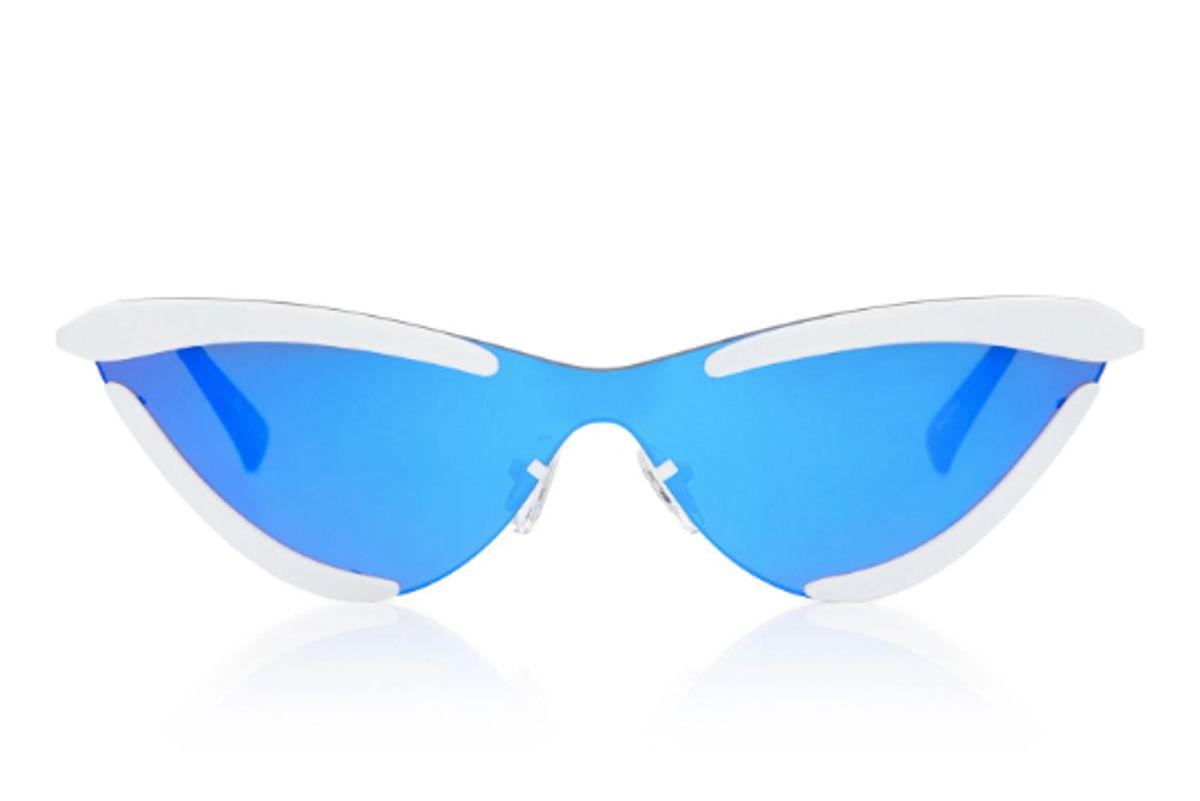 le specs x adam selman the scandal cat eye sunglasses