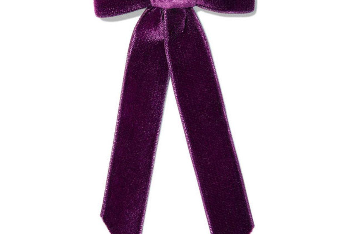 jennifer behr velvet bow hairclip