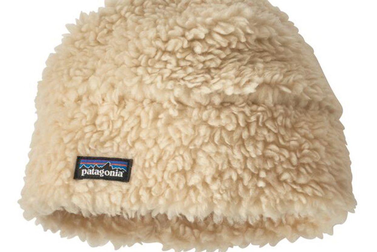 patagonia sherpa pile beanie