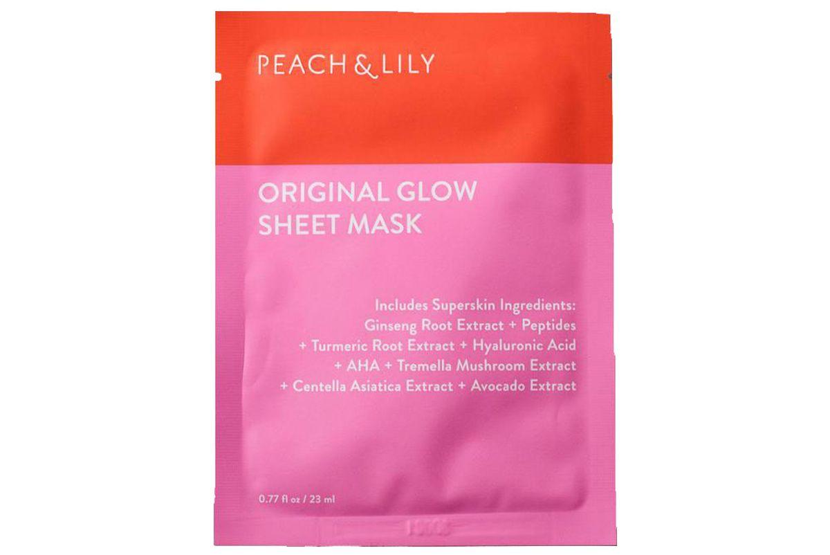 peach and lily original glow sheet mask set shop