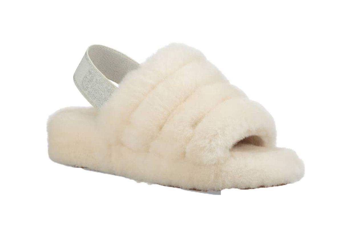 ugg fluff yeah genuine shearling slipper