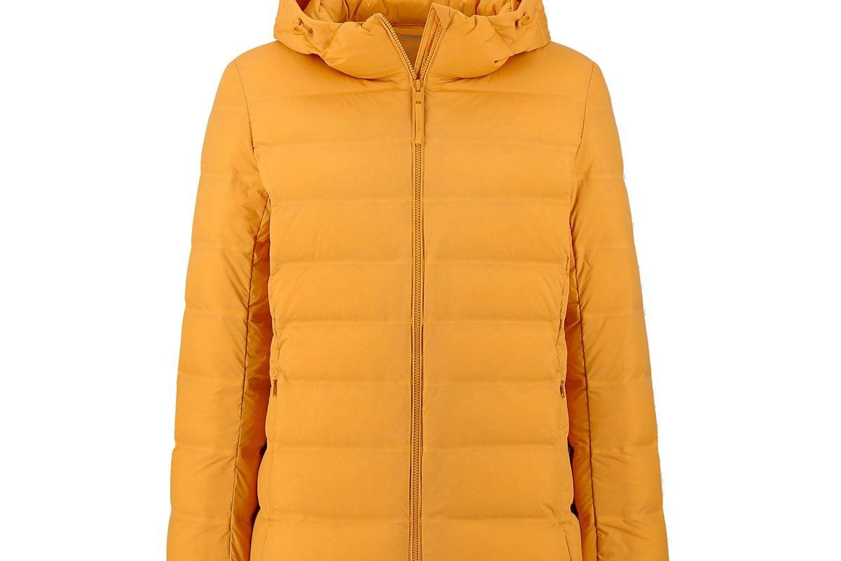 uniqlo women ultra light down seamless parka