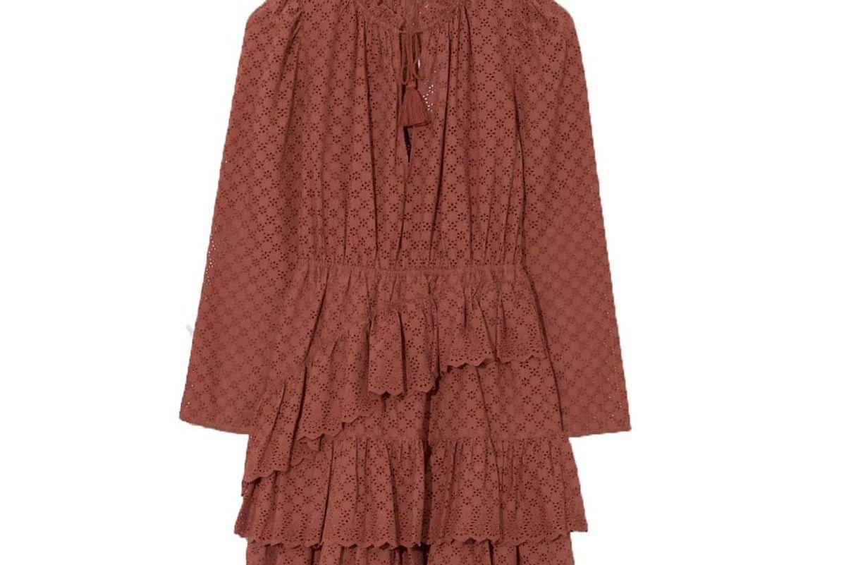 ulla johnson umber josette dress