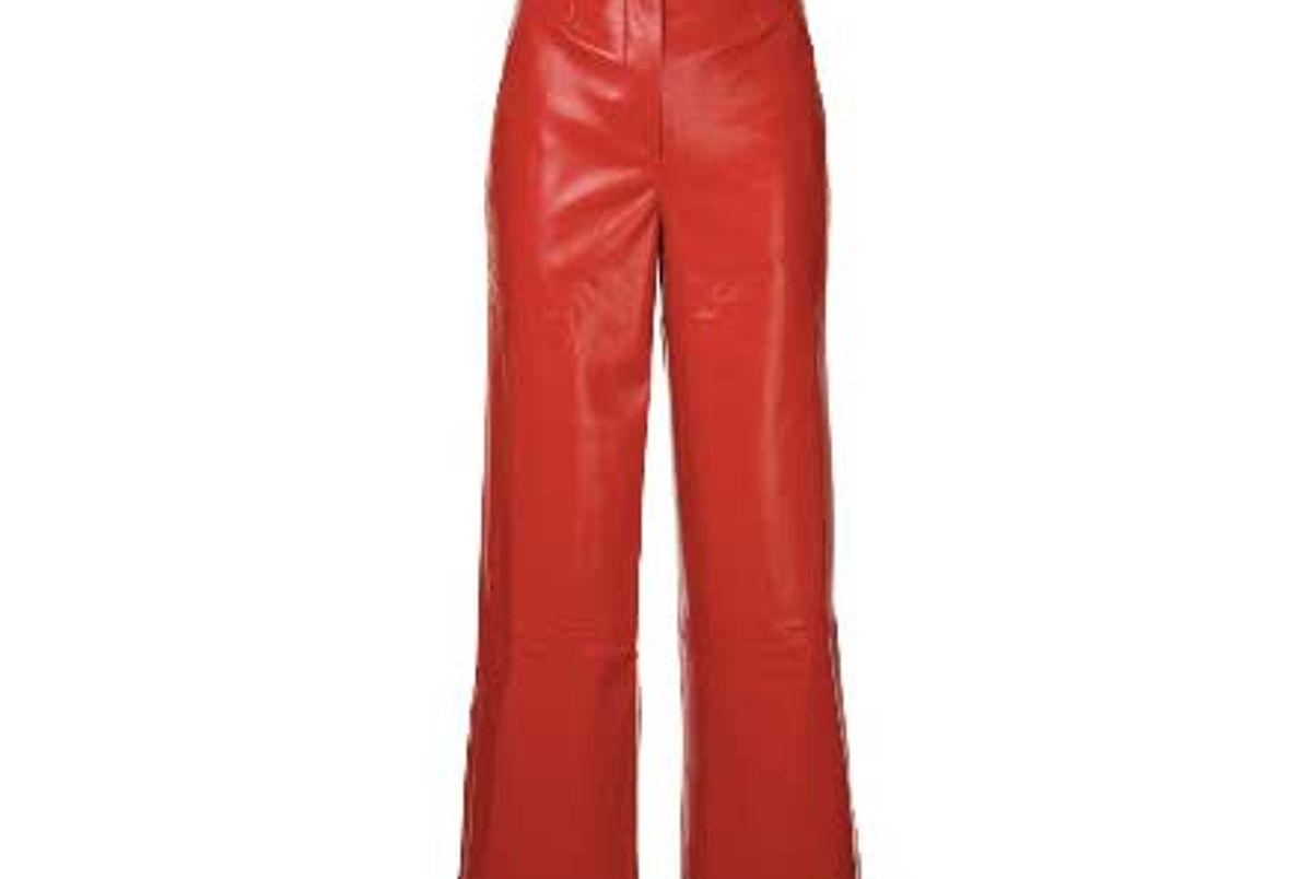 nanushka africa cropped trousers shop