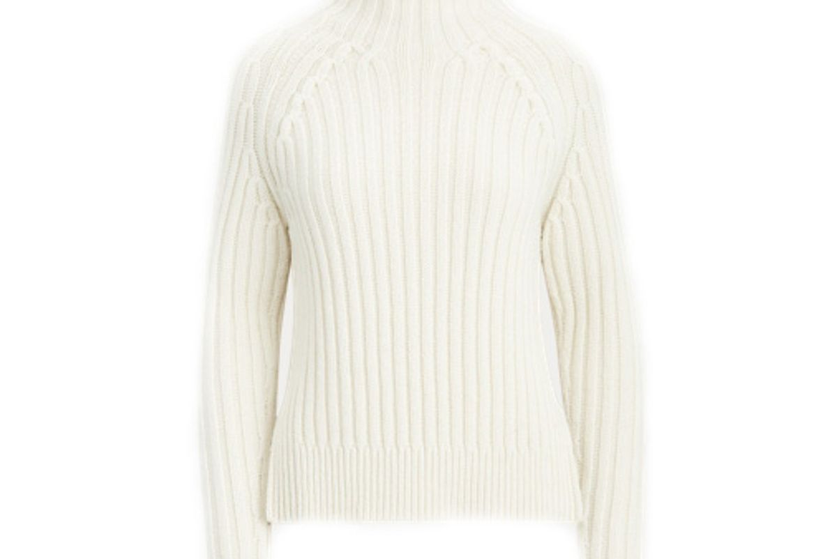 polo ralph lauren ribbed turtleneck sweater