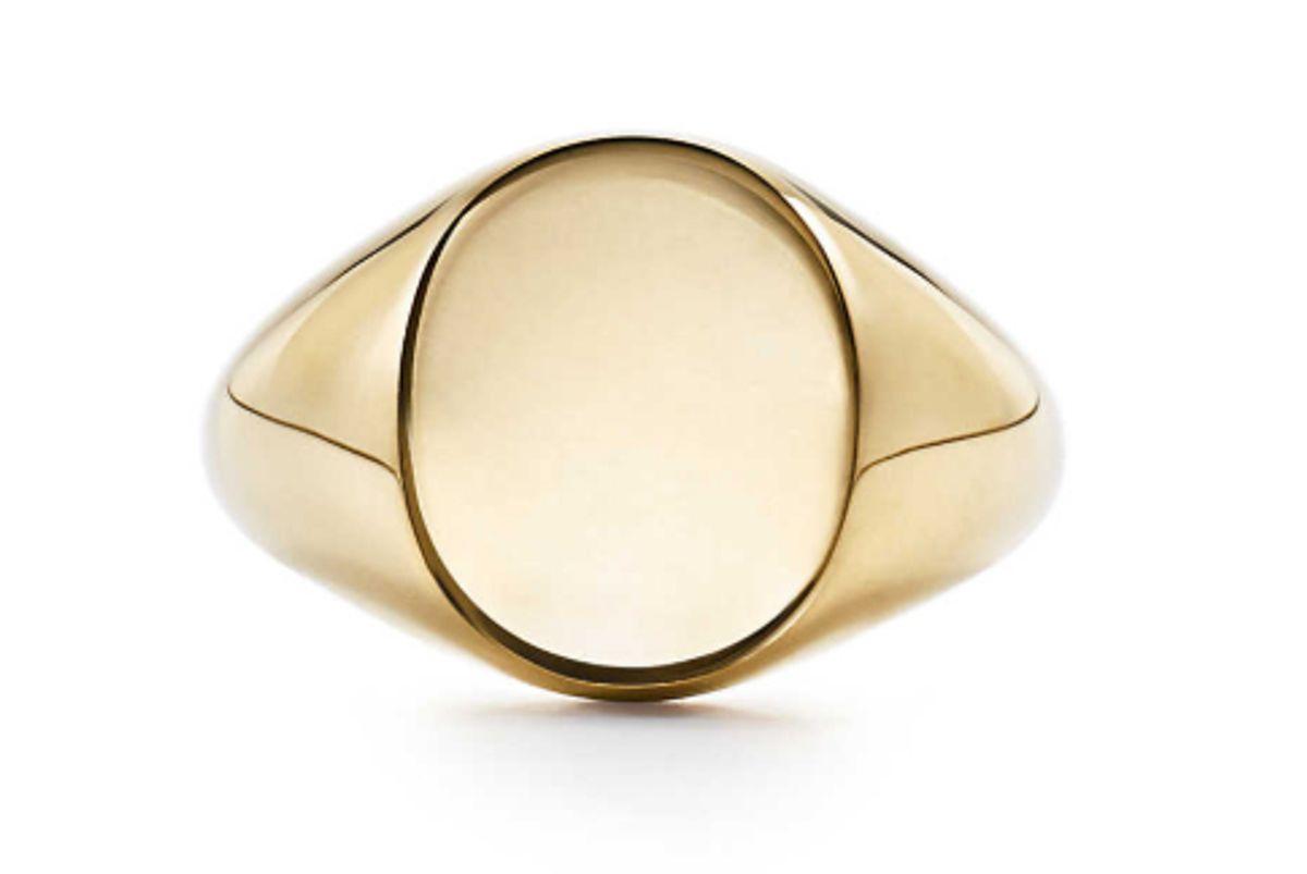 tiffany signet ring