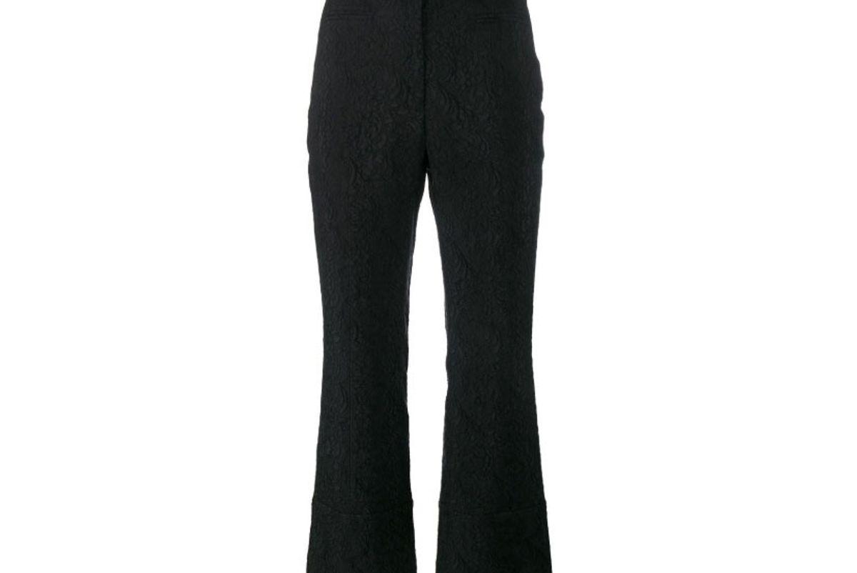 erdem brocade trousers
