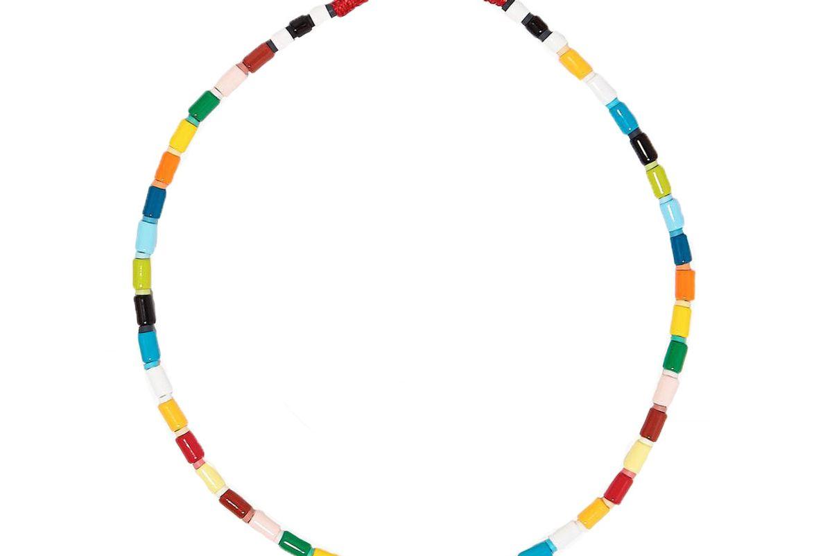 roxanne assoulin rainbow u tube necklace