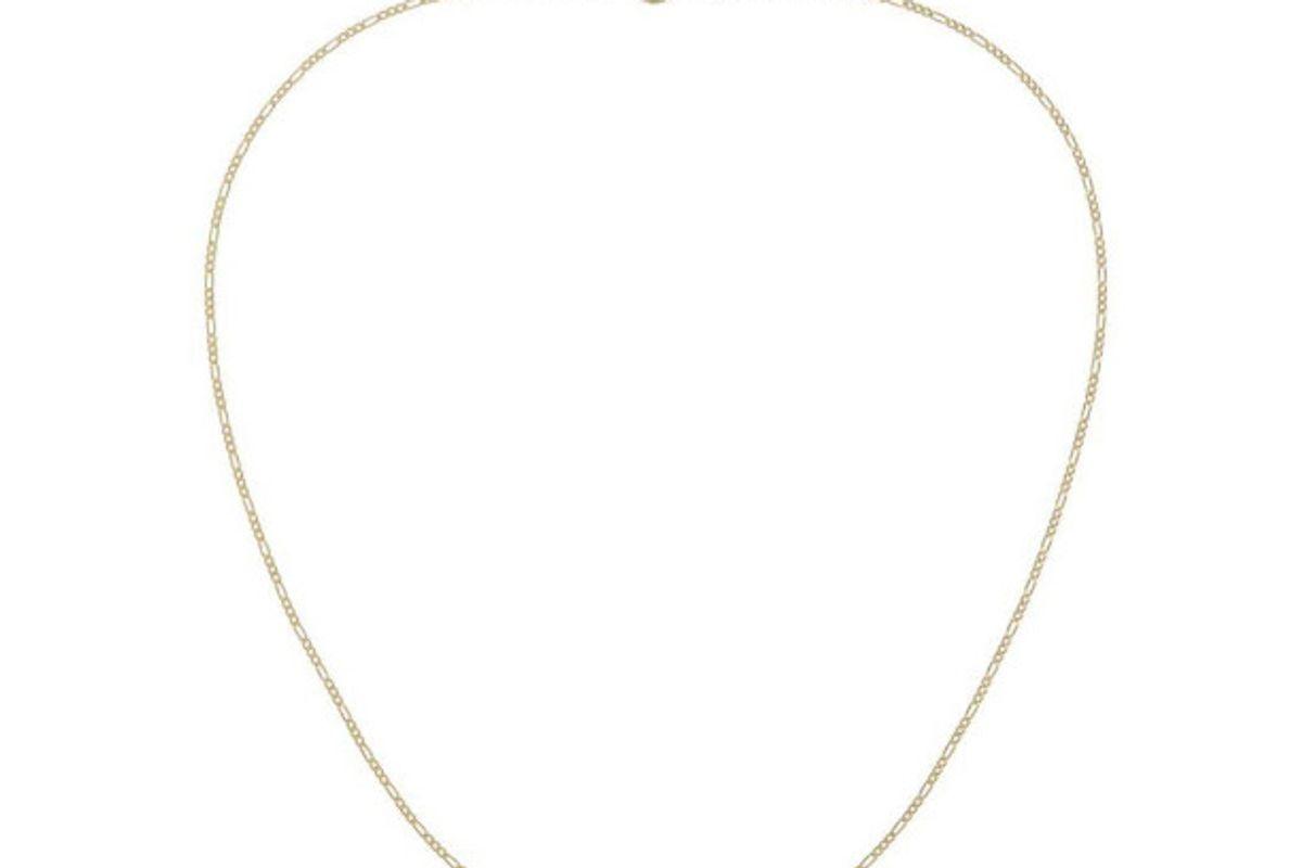 adinas jewels figaro baby chain 14kt