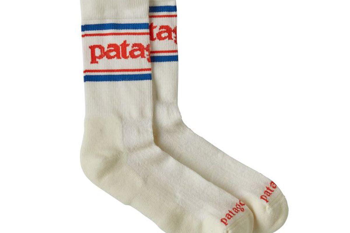 patagonia-lightweight merino performance crew socks