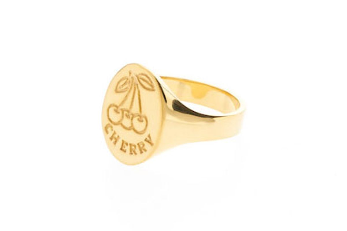 rhyden cherry signet ring