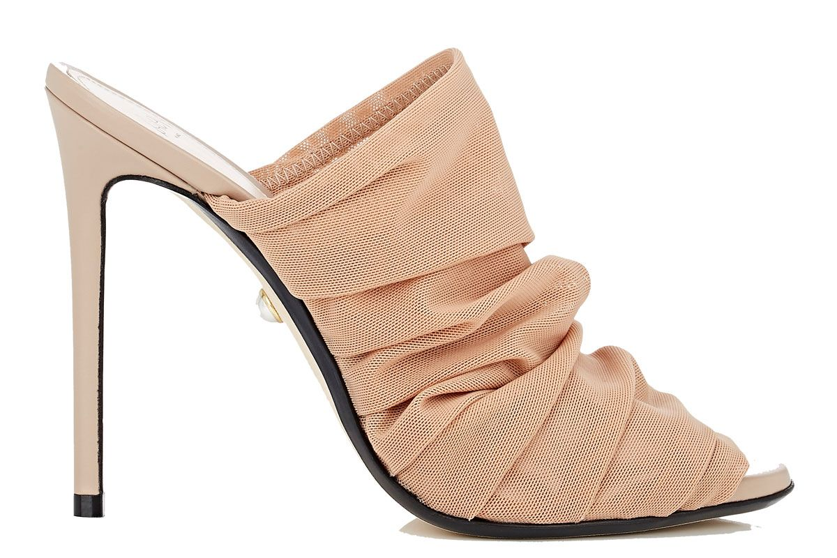 alevi milano afef tulle mules