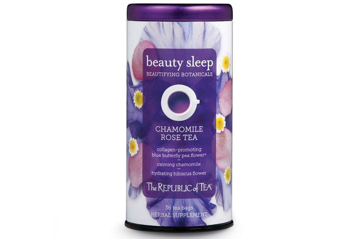 the republic of tea republic of tea beautifying botanicals beauty sleep herbal tea