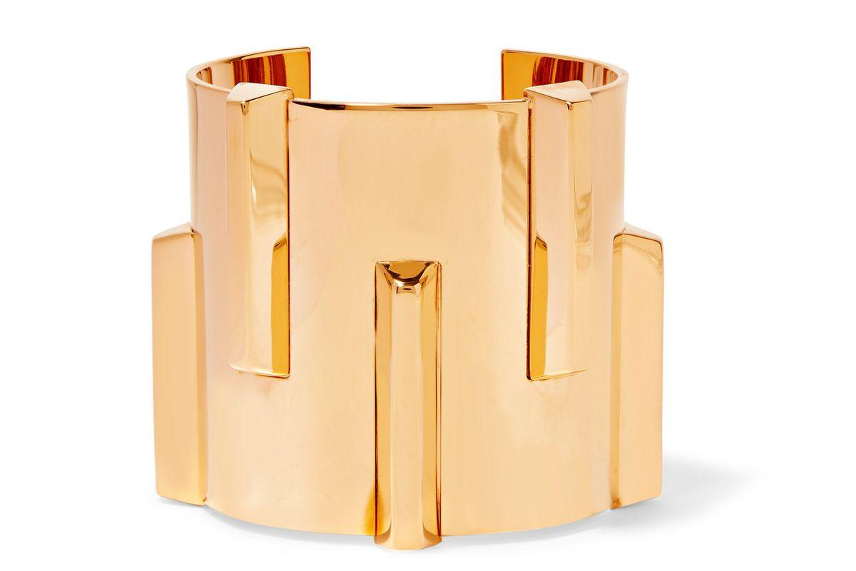 Gold-tone cuff