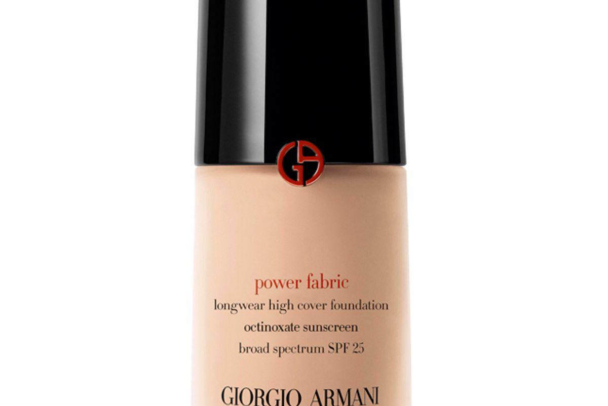 armani power fabric foundation