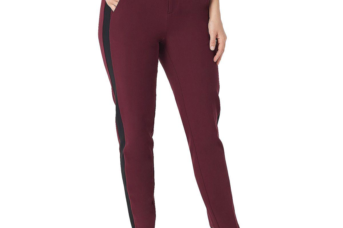styleist by micaela regular side insert woven pants
