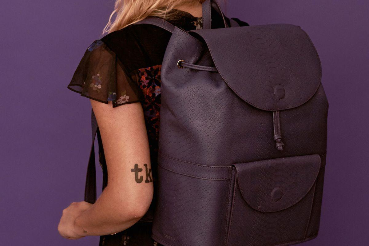 Royal Purple City Backpack