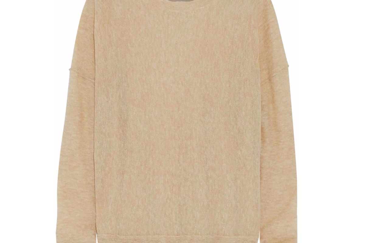 by malene birger slub knit sweater