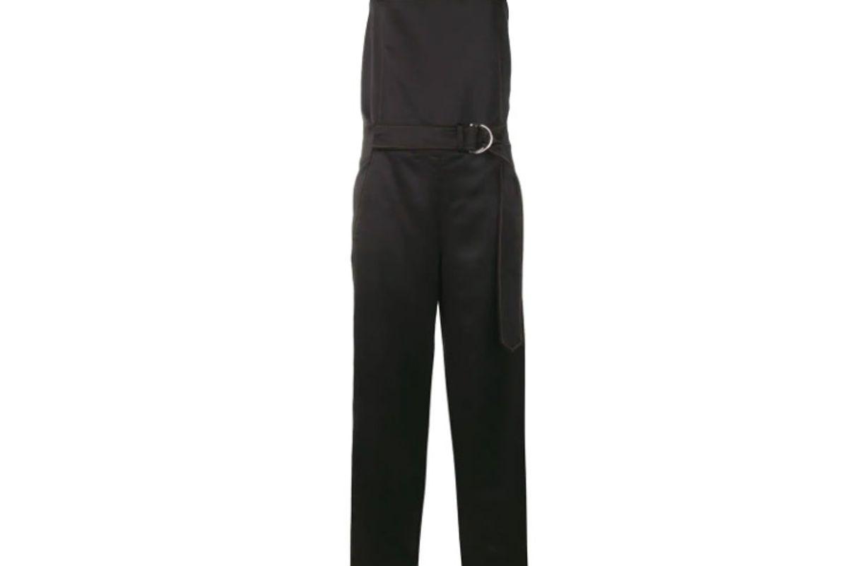 cedric charlier wide leg jumpsuit
